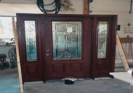 Example of In-shop Finish